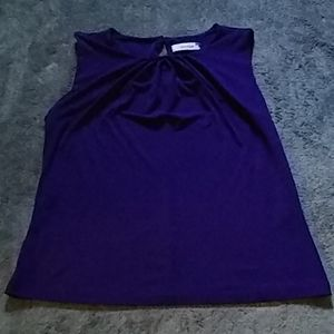 Calvin Klein purple top